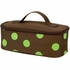 Four Peas Lime Polka Dot Duffle Bag