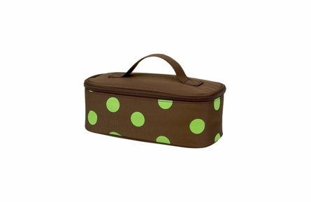 Four Peas Lime Polka Dot School Backpack