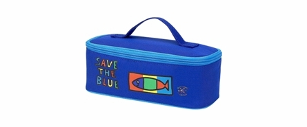 Four Peas Save the Blue Duffle Bag