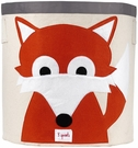 3 Sprouts Fox Canvas Storage Bin