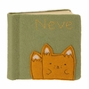 Fox Felt Applique Personalized Photo Album