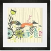 Fox & Foliage Framed Art Print