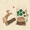 Fox Grove Canvas Wall Art