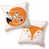 Foxy Baby Reversible Throw Pillow