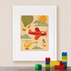 Framed By Air Art Print on Wood