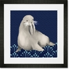 Francis the Walrus Framed Art Print