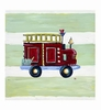 Franklin the Fire Truck Canvas Reproduction
