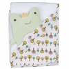 Franky Frog Hooded Towel Set