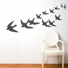Freedom in Charcoal Wall Decal