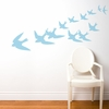 Freedom in Pastel Blue Wall Decal