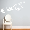Freedom in White Wall Decal