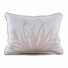 Freesia Throw Pillow in Blush