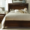 Freestyle Bookcase Platform Bed with Storage