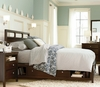 Freestyle Panel Platform Bed with Storage