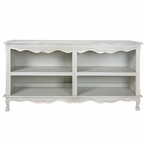 French Double Bookcase in Provence Blue
