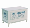 French Toy Chest - Blue Toile