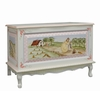 French Toy Chest - Enchanted Forest