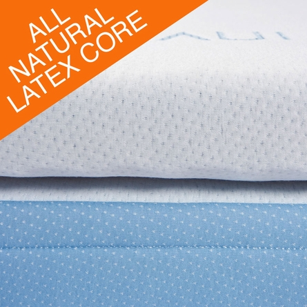 "Fresh 3"" All Latex Mattress Topper"