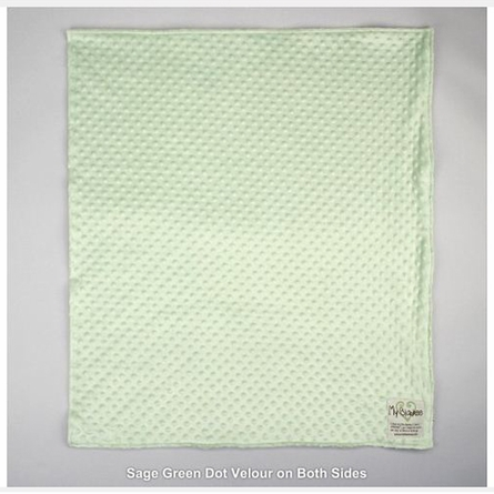 Fresh Cut Velour Dot Baby Blanket