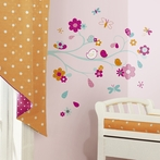 Friendly Bird Wall Decals