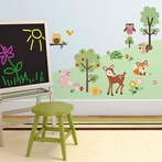 Friendly Forest Wall Decals