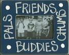 Friends & Buddies Picture Frame - Dark Blue