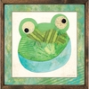 Frog Framed Art Print