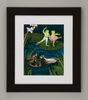 Frog Lake I Framed Art