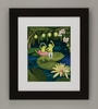 Frog Lake II Framed Art