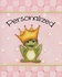 Frog Prince in Pink Personalized Canvas Reproduction