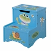 Frog Step Stool with Storage