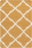 Frontier Diamonds Flat Weave Rug in Mustard