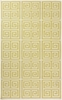 Frontier Greek Key Flat Weave Rug in Lime