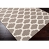 Frontier Lattice Flat Weave Rug in Olive
