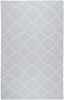 Frontier Lattice Flat Weave Rug in Slate