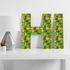 Fruit Bowl Decorative Letters
