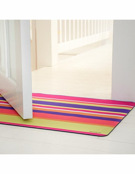 Fruit Stripe Floor Mat
