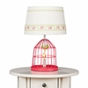 Fuchsia Birdcage Lamp Base