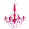 Fuchsia Gypsy Large Chandelier