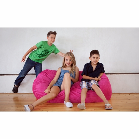 Fuchsia Junior Sofa Saxx Bean Bag