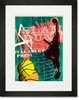 Full Court Press Framed Art Print