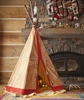 Fully Decorated Tipi