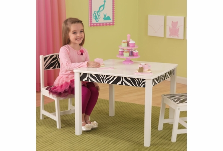 Fun and Funky Table and 2-Chair Set