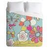 Fun Floral Lightweight Duvet Cover