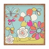 Fun Floral Square Tray