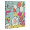 Fun Floral Wrapped Canvas Art