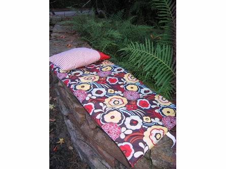 Funky Floral Napmat
