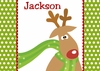 Funky Reindeer Personalized Christmas Puzzle