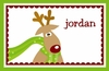 Funky Reindeer Personalized Placemat