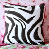 Funky Rose Throw Pillow